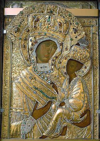 тихвинской иконы божьей матери фото