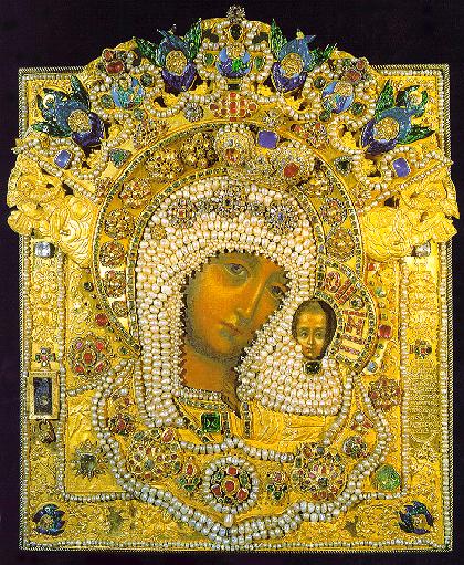 Икона божией матери почаевская где находится