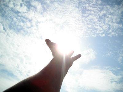картинка руки бога